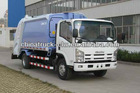 Famous original ISUZU Compression Garbage Truck
