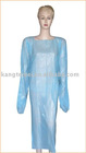 PE/CPE barrier gown,PE/CPE isolation gown