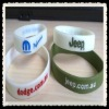 imprinted color silicone wristbands