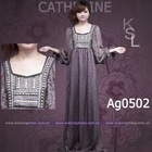 Chiffon kaftan dress with kaftan dresses prices bust beaded kaftan dresses ANJ1619(Ag0502)