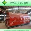 2012 HOT SALE scrap plastic pyrolysis to diesel plant