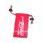 drawstring cellphone bag
