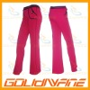 Cotton spandex fitness pant for women
