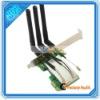 Mini PCI-E TO PCI-E Wireless Adapter +3 Antenna WiFi (C01759)