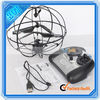 Black 3 CH RC UFO Style Helicopter With Light Built-in Gyroscope (14002473)