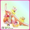 Amusement park skateboarding ladder with cartoon horse