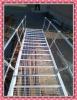 hot dip galvanized storage shelf access ladder