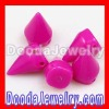 2012 Hottest Neon Spike Beads, Fashion Acrylic Spike Rivet Beads for DIY Punk Jewelry Making!