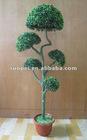Artificial Boxwood Ball Bonsai For Garden Decoration, Artificial Plant