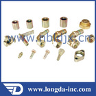 Auto copper hose fitting