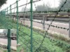 Stainless steel razor barbed fence