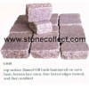 Red Granite G648 Tumbled Paving Stone