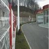 Triangle fence