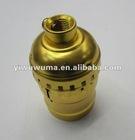 golden /silvery metal Lamp Holder E26