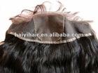 100% virgin Peruvian hair silk top closure lace frontal