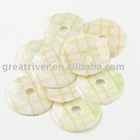 special stripe silver-based yellow colourful sequin