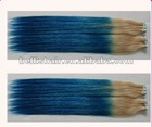 "22"" Indian Remy Two Tone Color 2.5g/pc PU Tape Hair Extensions Skin Weft"