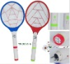 CE rechargeable mosquito swatter with USB and flashlight Electric Mosquito Racket