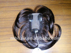Clip In Thin Pu Silk Base Top Closure Human Hair Piece