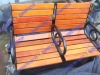Patio wood bench