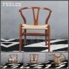 Wishbone shape wood chair FL-F001#