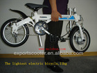 light weight electric bicycle for kids