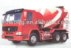 6x4 Concrete Mixer Optional Color Load Cube 7-16M3 Lowest Price