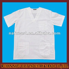 white comfortable doctor hospital uniform
