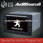 "6.5"" 2 din in car audio gps player for Peugeot206/307/407/308/3008/4008 with 3G/dvd/BT/gps/6CD/DVBT/TMC/Iphone/Ipod/Radio/RDS"