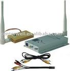 1.5W 1.2G Mini Wireless AV Transmitter and Receiver