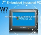 Feelworld 7inch Embedded Touch Industrial Win ce PC with RS232 / RS485
