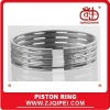 Coil spring oil control ring