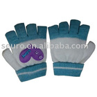 knitted glove,cotton knitted gloves,knitting kids gloves