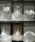 2011 Half sleeve stain wedding jacket 5350