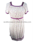 Hot Sell Pajamas Dresses,cotton pajamas and sleepwear