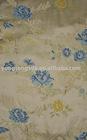 high density floral pattern viscose silk jacquard upholstery fabric