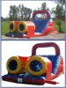 2012 hot selling giant and long inflatable water slide