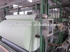 polyester mat for modified bitumen membrane manufacturing