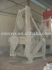 Davit Crane for a oil pipe layer barge