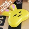 Hot!Miomi love rabbit yellow contact lens case Nano anti-microbial contact lens