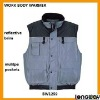 100% POLYESTER WAISTCOAT FOR MENS , WORK MENS WAISTCOAT CONCRETE CEMENT