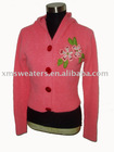 Ladies' Cardigan sweater(XM-LD-090101-F0006C)