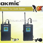 UM-3 32/64 channels tour guide system wireless microphone