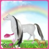 fine workmanship plastic horse farm animals toys