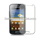 high quality stock Clear LCD Screen Guard Protector Film For Samsung Galaxy Ace 2 i8160