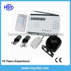 security Home Wireless Alarm system with 8 zone wireless and 2 zone wired