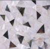 MX043-irregular random size mixed black lip mop shell mosaic