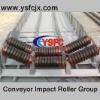 Belt conveyor troughing Idler sets