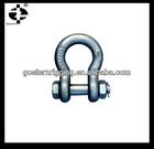 nut bow shackle