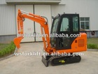 1.8 Ton Mini Hydraulic Crawler Excavator